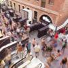 installazione scale mobili uso pubblico accesso centro storico