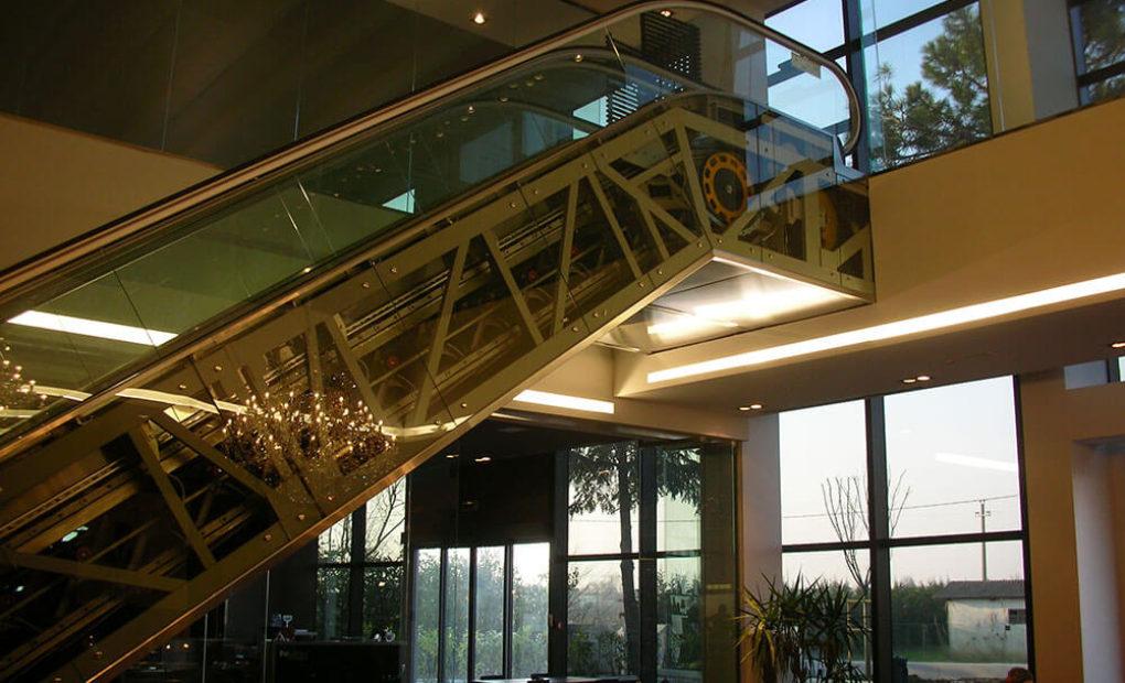 scale mobili baldinini laterale