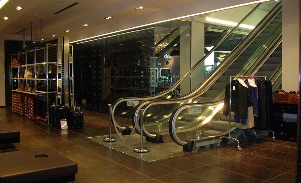 scale mobili baldinini corrimano