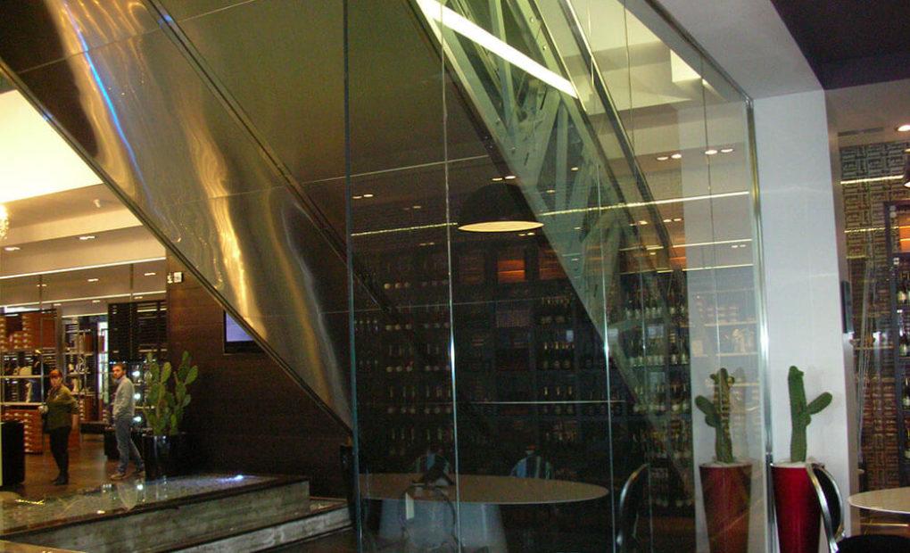 scale mobili baldinini trasparenza