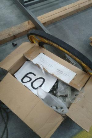 montaggio scale mobili materiali