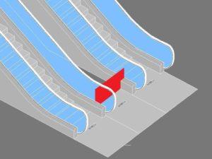 scale mobili protezioni centrali addizionali